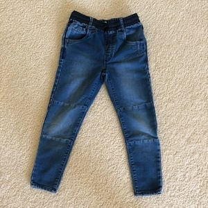 Zara boy's size 9 stretch denim elastic waistband